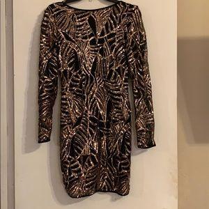 Great Gatsby sequins dress